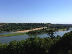 The Loire River from the Southern Bank - near Nantes