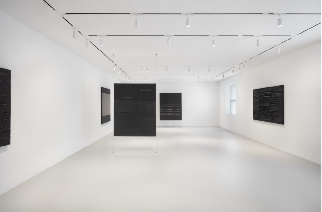 Pierre Soulages at Levy Gorvy Gallery