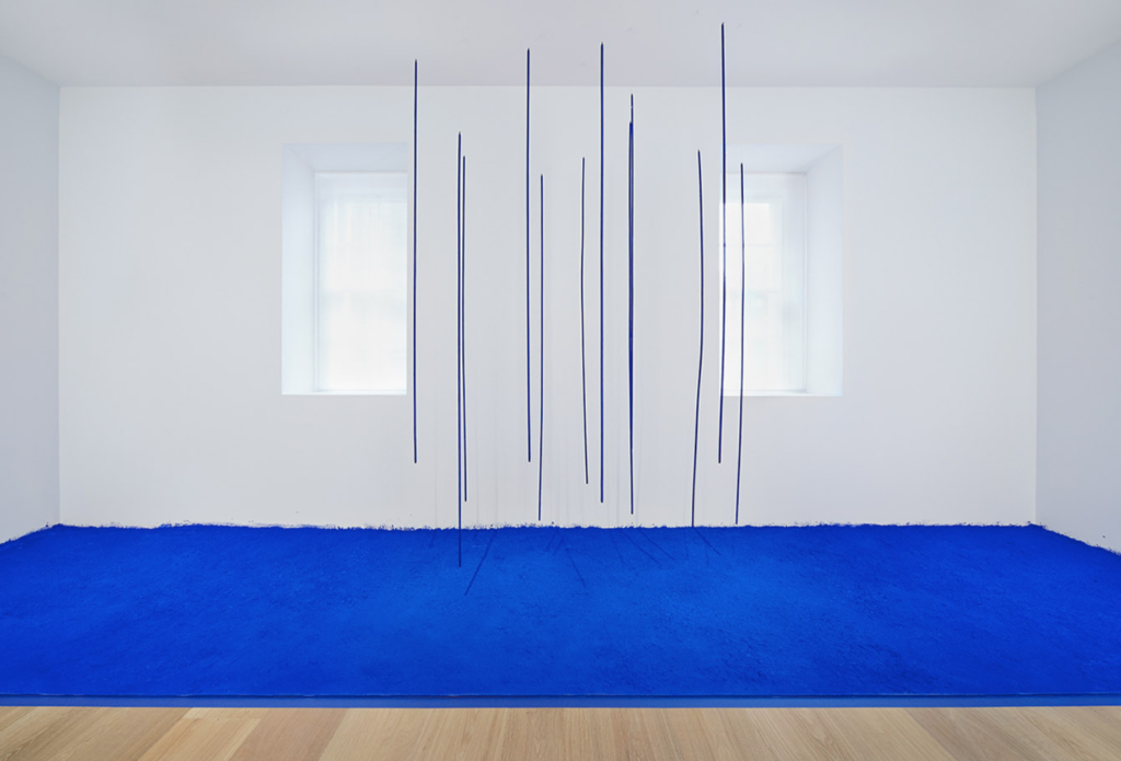 Yves Klein at Levy Gorvy Gallery