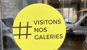 #visitonsnosgaleries galeries d'art St Germain des pres Paris